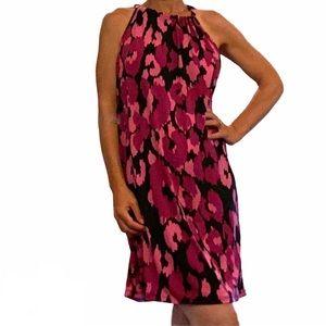 Trina Turk JuJu Jersey Shift Halter Dress Medium